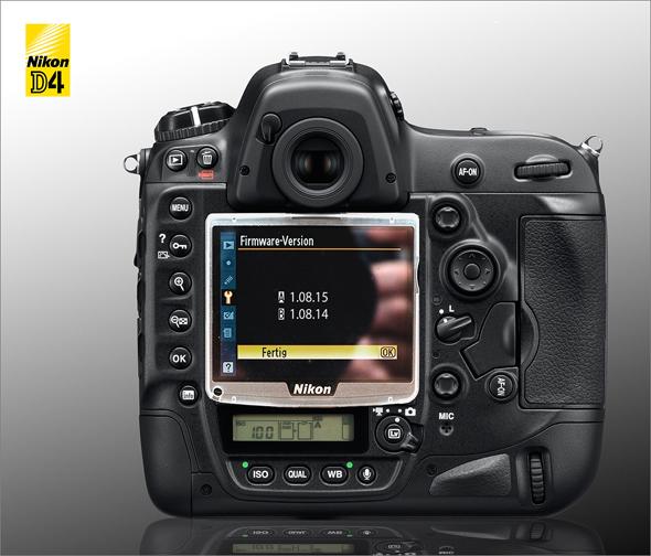 Nikon D4 - New Firmware 1.08.15